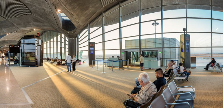 Amman Airport Gate