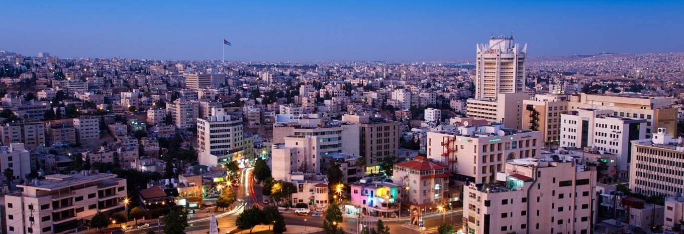 City of Amman Jordan
