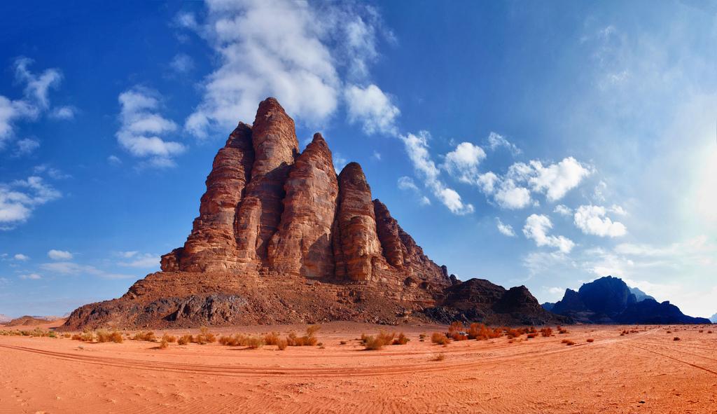Seven Pillars of Wisdom Wadi Rum