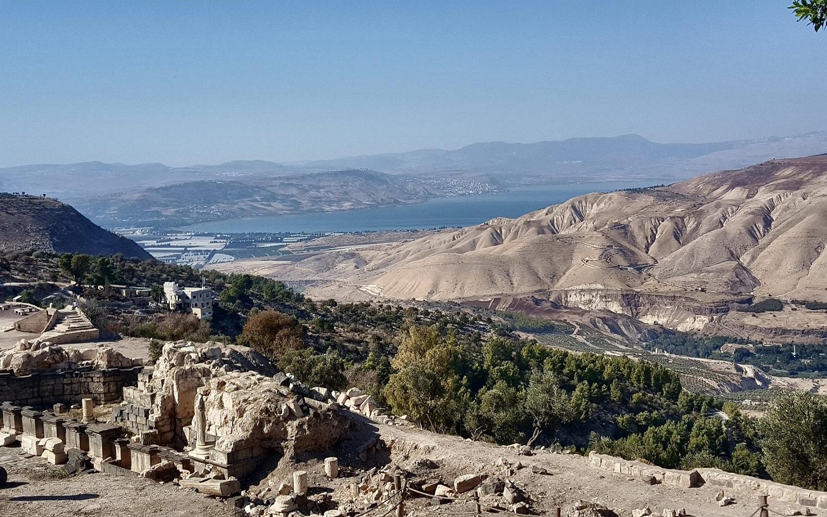 Umm Quais Panorama View Jordan