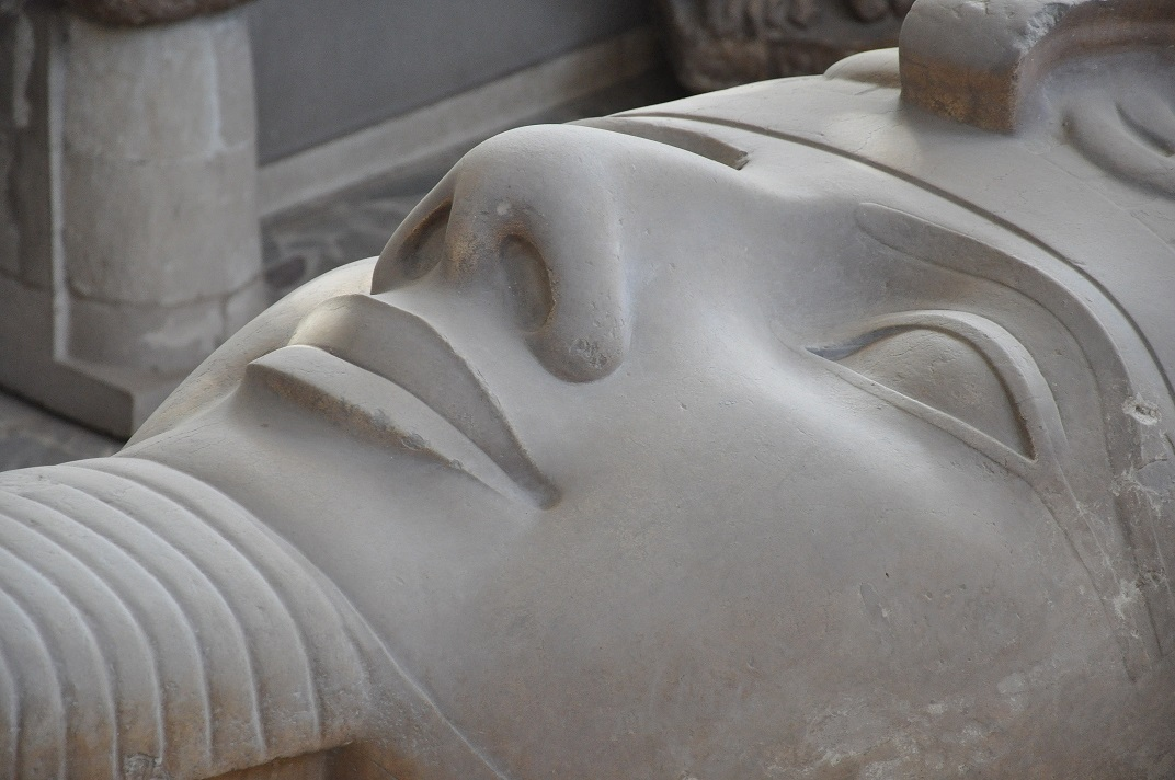 Ramses Statue Memphis Egypt