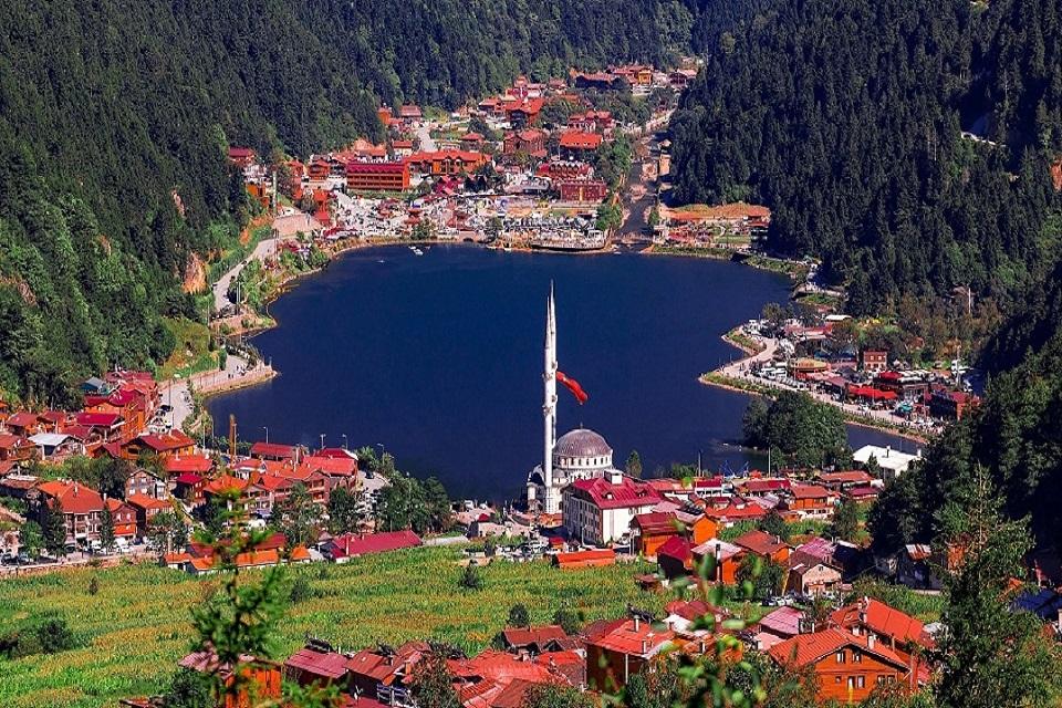 Uzungol Lake Trabzon Turkey