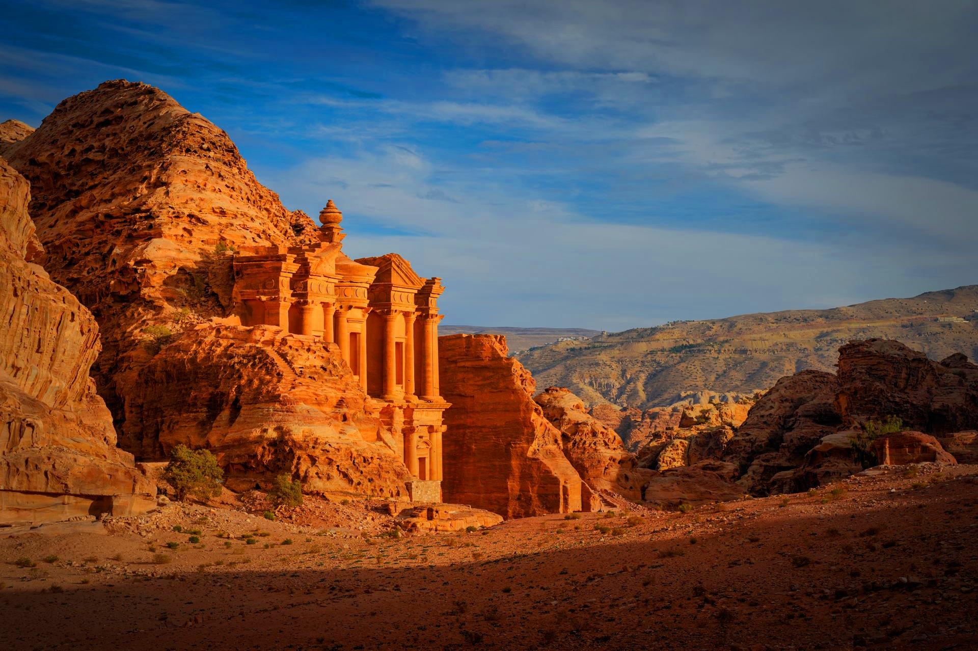 Monastery El Deir Petra