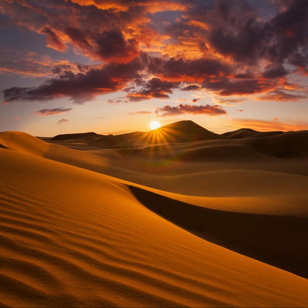 Sand Dune Wadi Rum